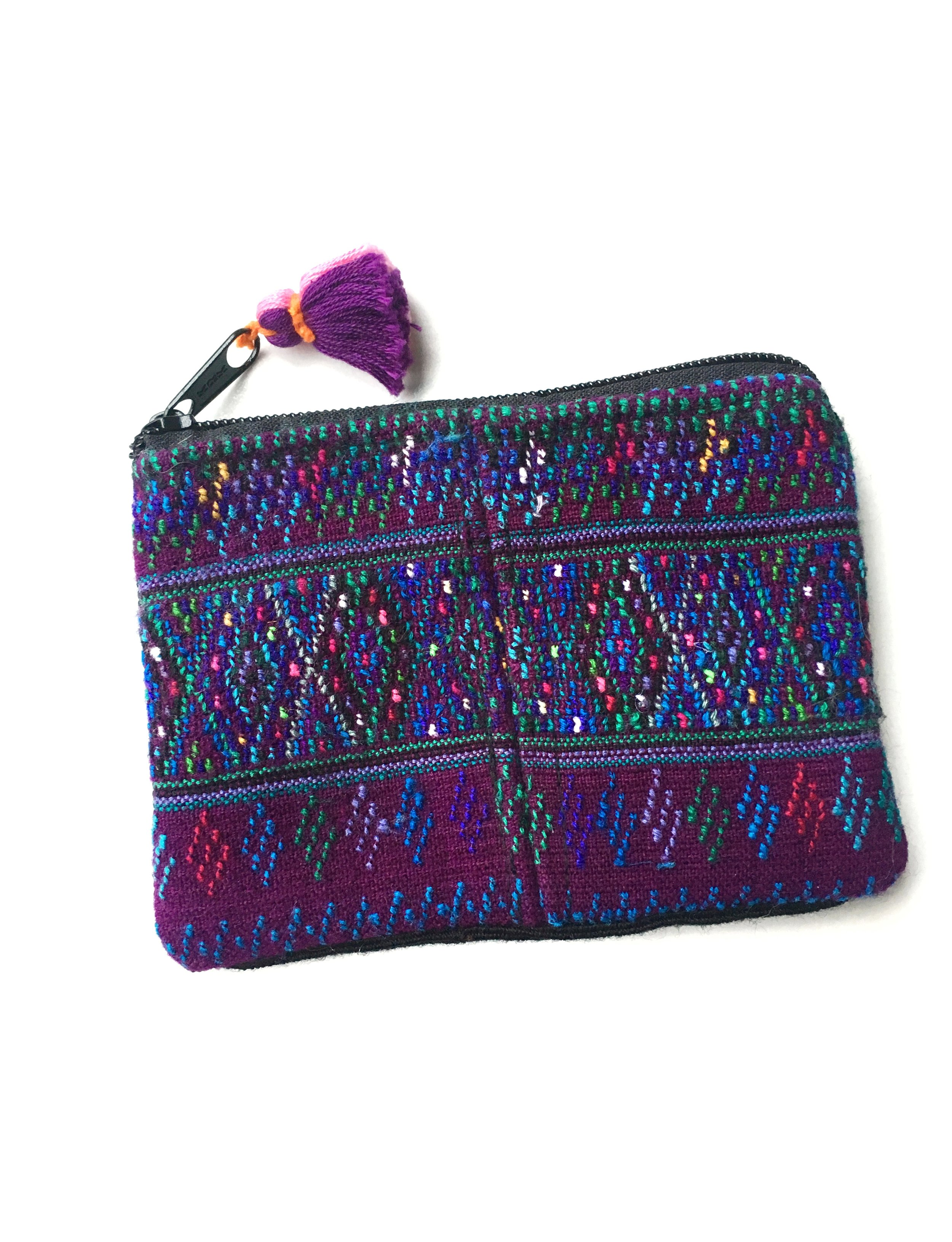 NOMAD COIN POUCH - PURPLE