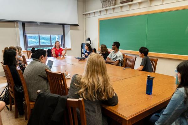 Speaking at Cornell University
