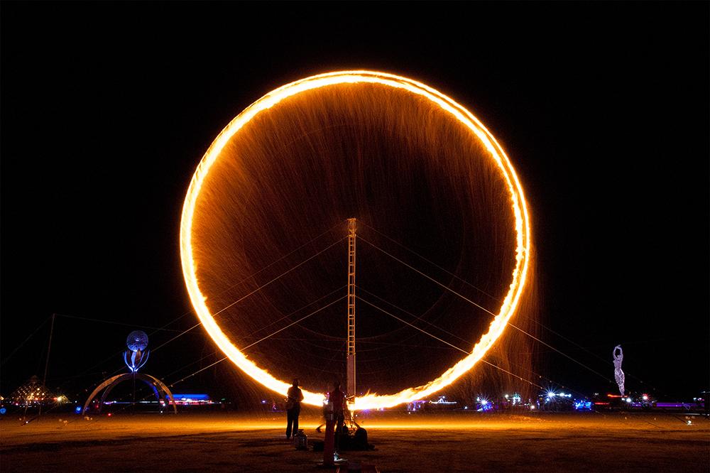Pendulum Burn (Burning Man) - 2013