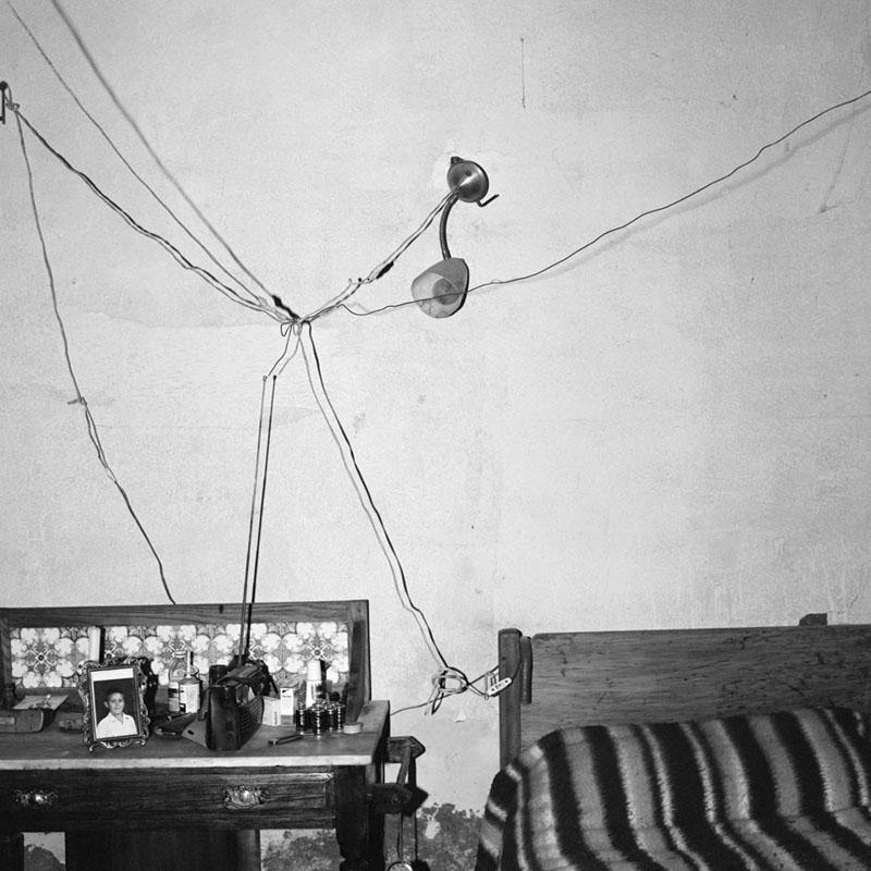 Bedroom of a Railway Worker De Aar, 1984