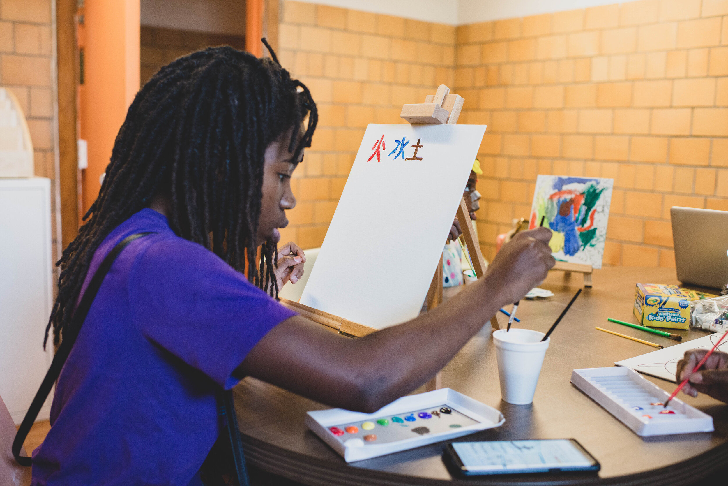 As our  work with young people  evolves, one vital piece remains: We value process over product and people over institutions. Our programming centers connection, curiosity and reflection as vital ingredients of a humanizing learning space.