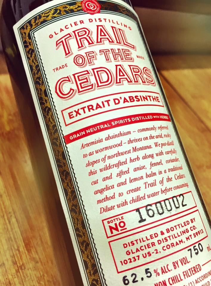 TRAIL OF THE CEDARS ABSINTHE - (125 proof)