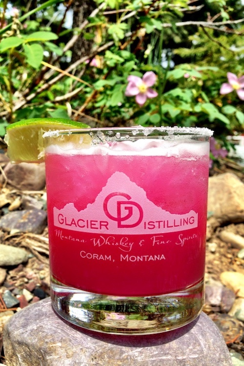 @$$ Backwards - In a shaker:Add 1 oz. Mule KickAdd 1/2 oz. prickly pear puree (you can use any juice concentrate of your choice)Squeeze one lime wedge into shakerAdd iceShake and pour into rocks glass (with salted rim, if desired)Top with sour mixAdd extra ice if needed