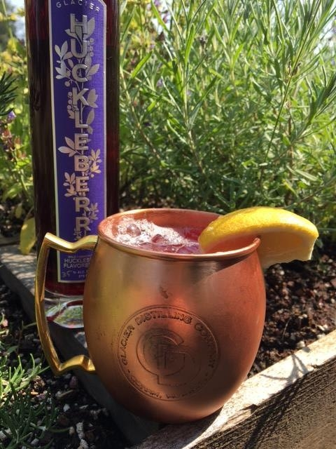 Huck Gin Mule - In a copper mug:Muddle lemon2 oz. Huckleberry GinIceTop with ginger beer