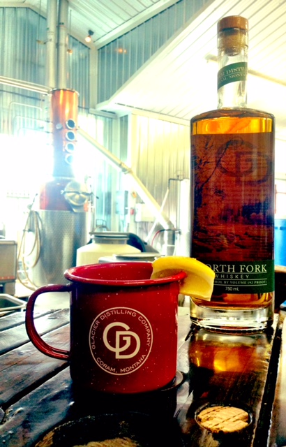 North Fork Hot Toddy - In a mug:1 oz. North Fork1 oz. honey simpleFresh lemon, squeezedHot water