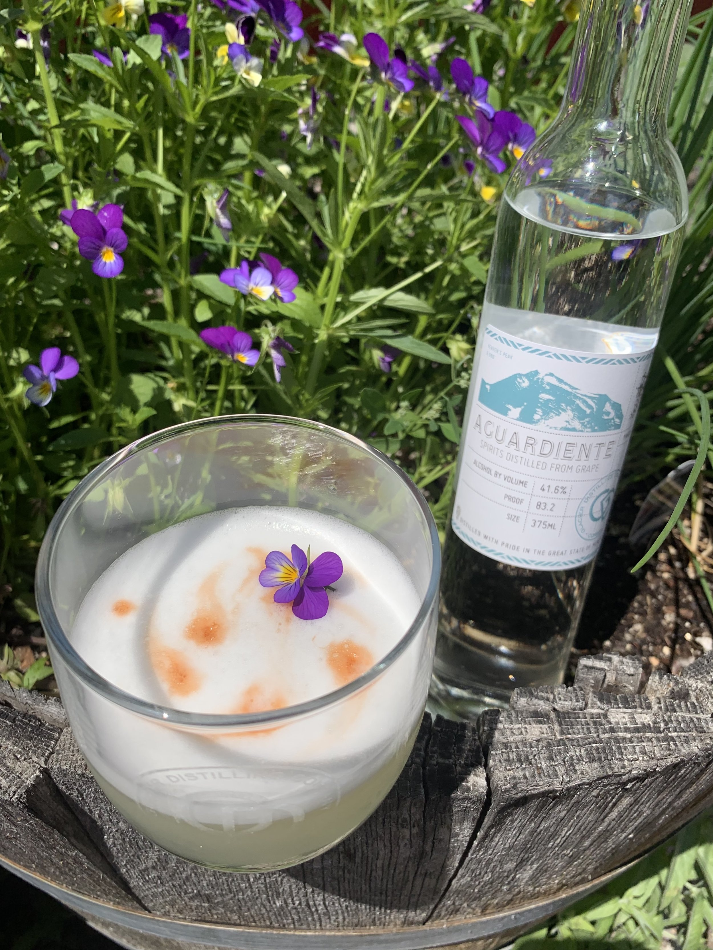 Taste Aguardiente in a Pisco Sour - on special now at The Whiskey Barn.