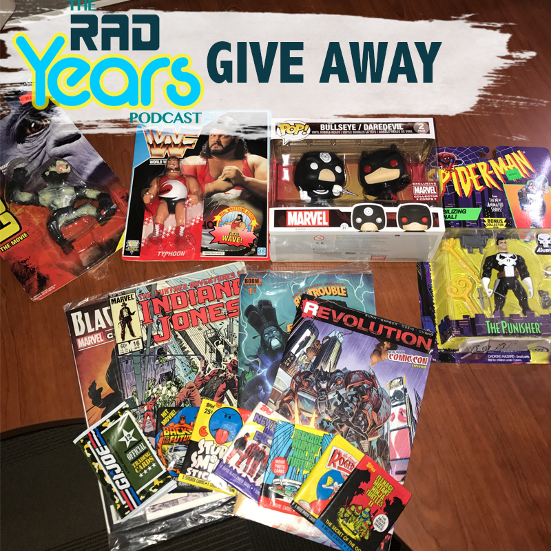 We're giving all of this to one lucky winner!