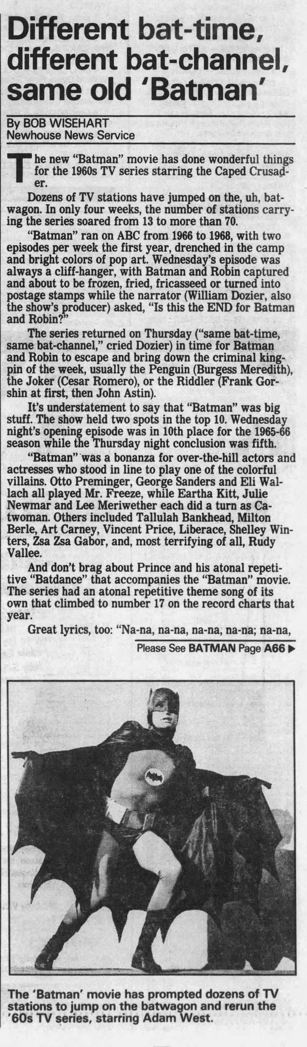 Batman '66 - Became life!