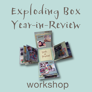 Blow the lid off your year! - This is a similar workshop to the Dream Box Workshop but a different format for the box.