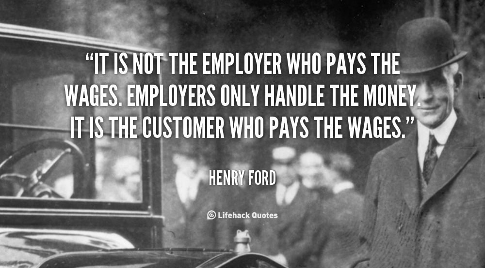 Henry Ford understood economics pretty well... His successors at his company, not so much.