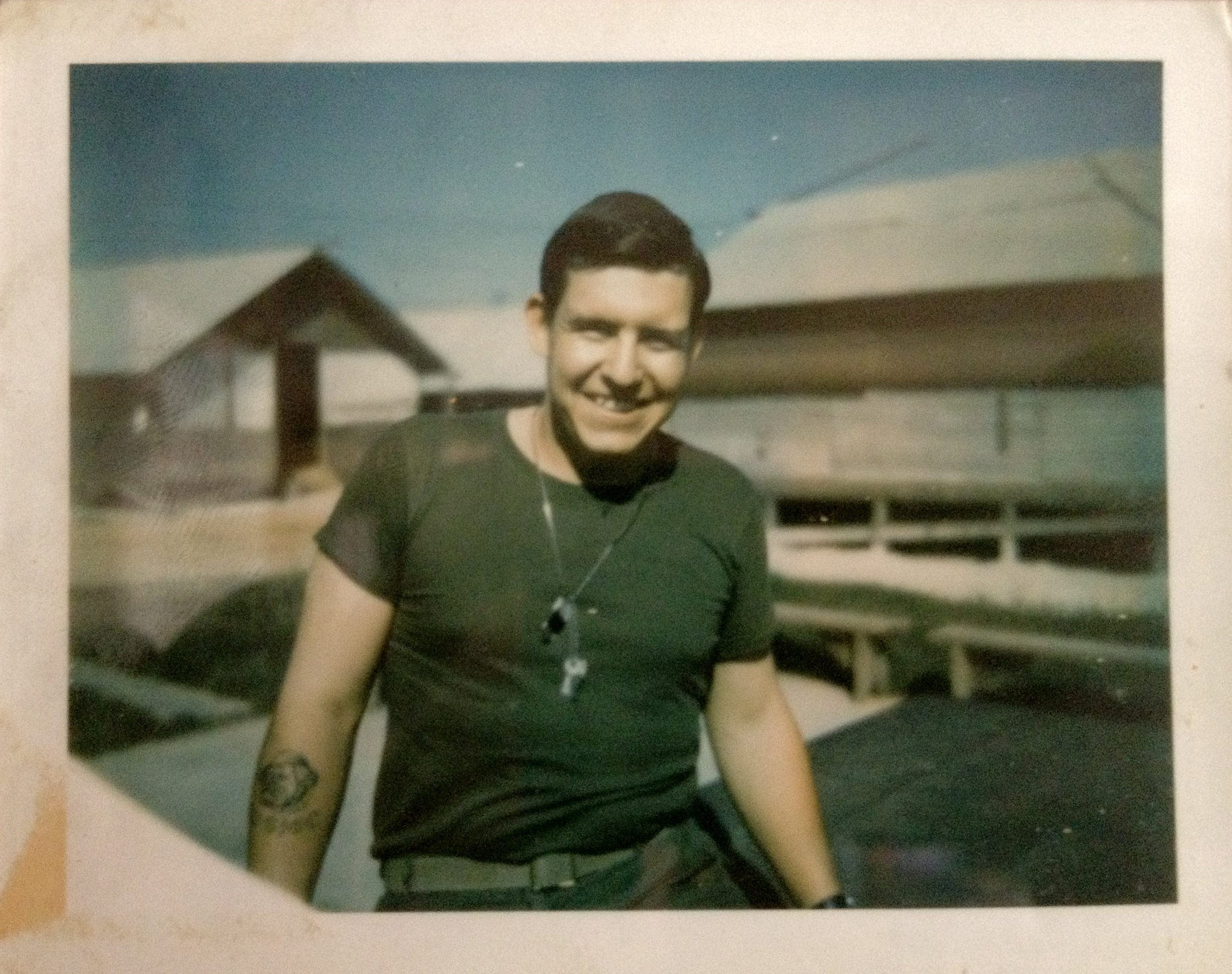 My dad, Dennis, in Vietnam, in 1968; about 50 years ago now...