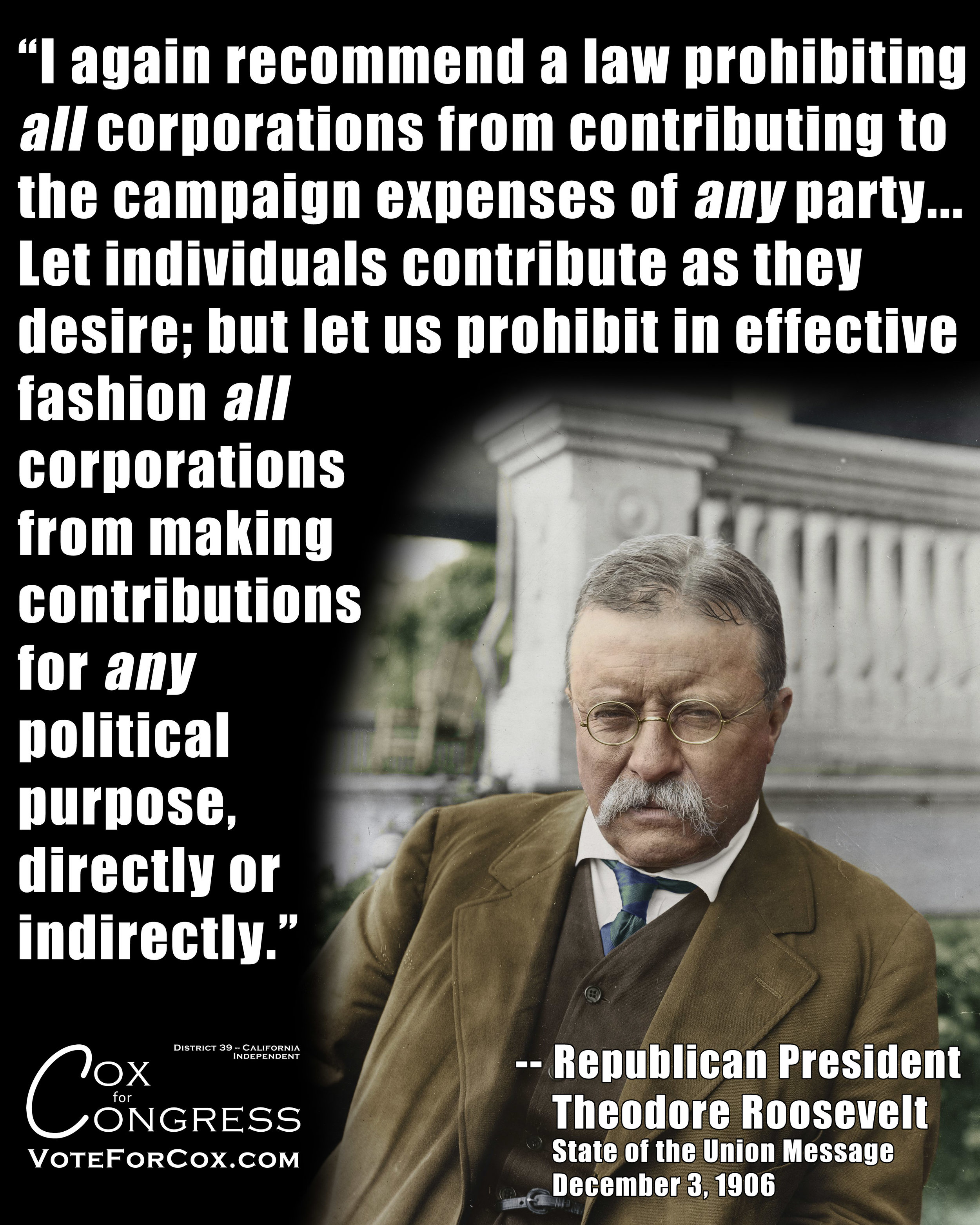 This is still necessary, it's just that now we have to overturn or side-step the disastrous Citizens United Supreme Court decision in order to do it. But it  has  to be done.