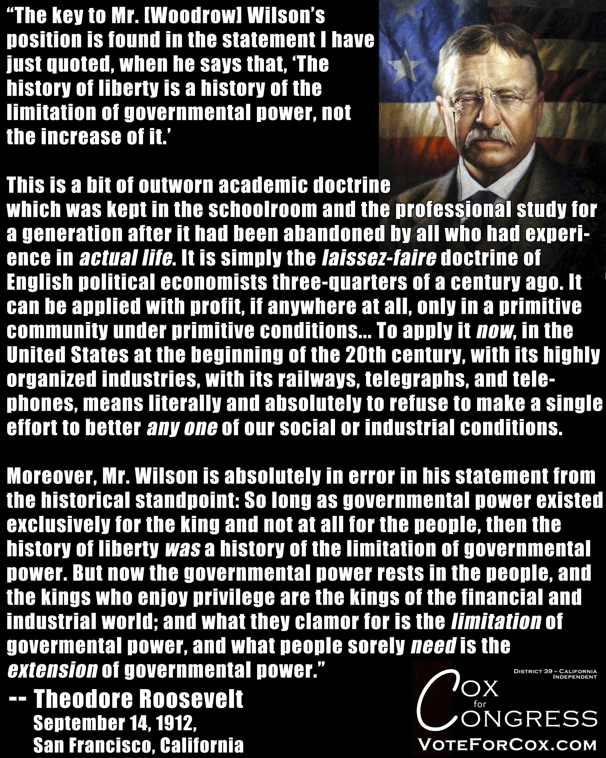 Part 1 of 2 of Teddy Roosevelt's speech as he ran for president as the head of a third party known as the Progressive Party, also known as the Bull Moose Party.