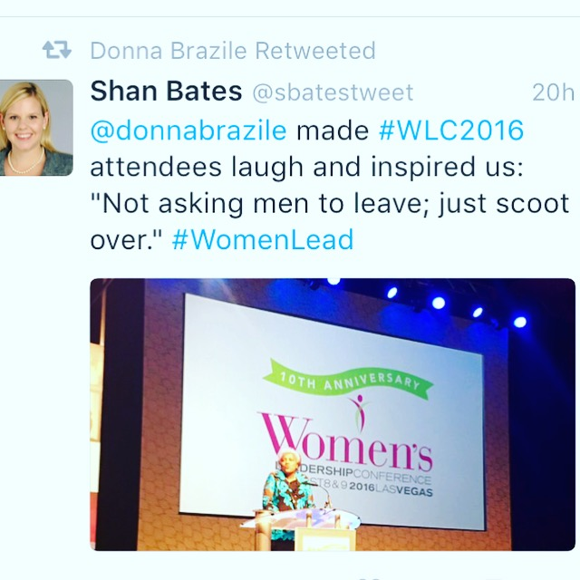 Retweeted by Donna Brazile