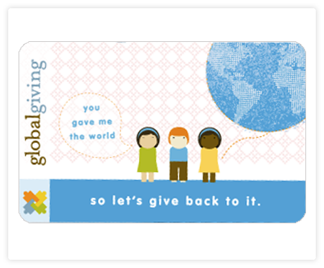 Global Giving Gift Card, Global Giving