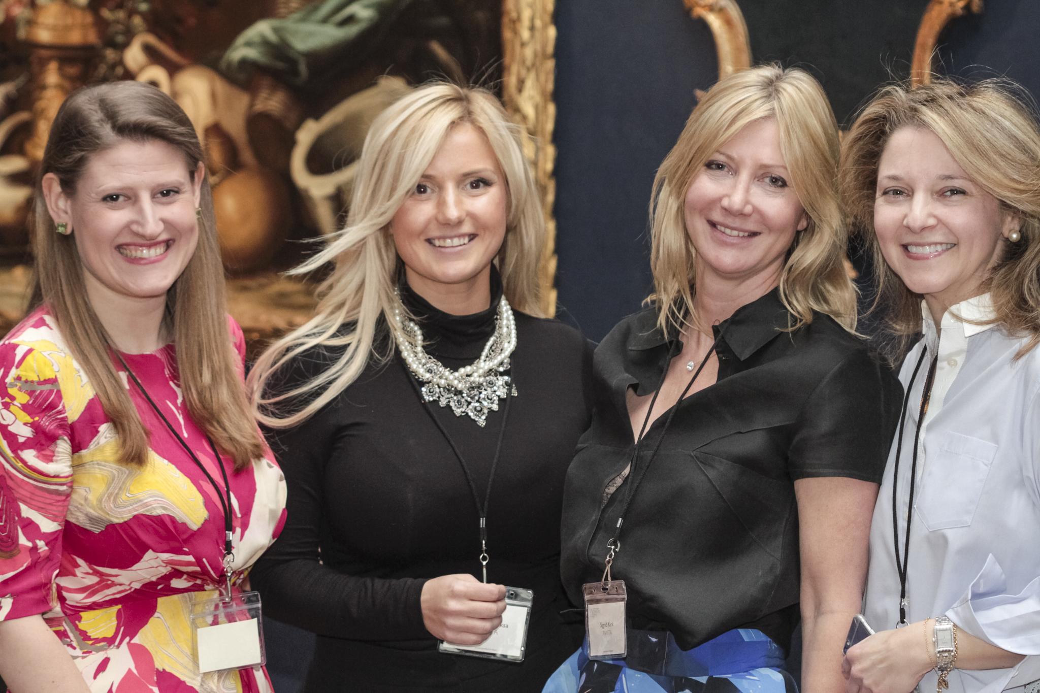 The co-founders of AWITA, Theodora Clarke, Katrina Aleksa, Sigrid Kirk and Kate Gordon