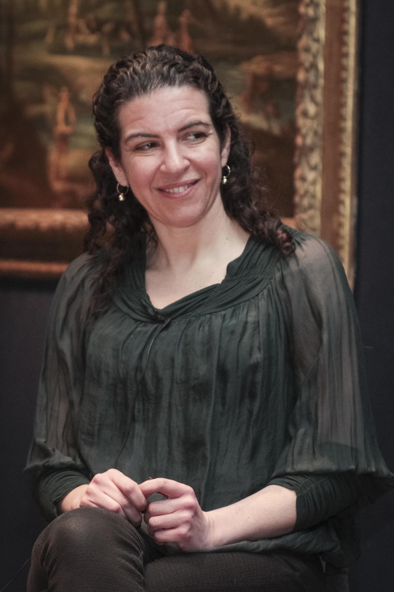 Main speaker Melanie Gerlis