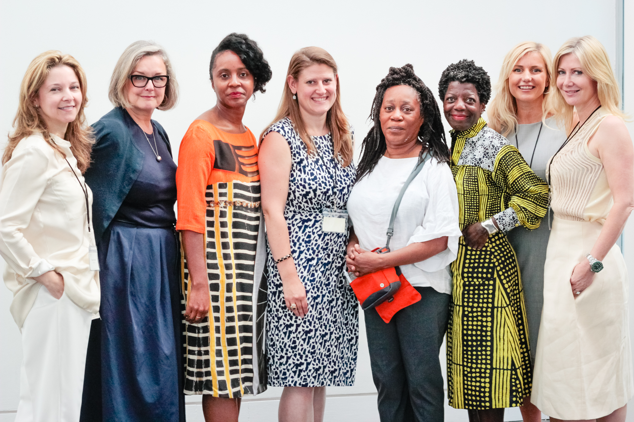 AWITA founders with the four invited panelists.
