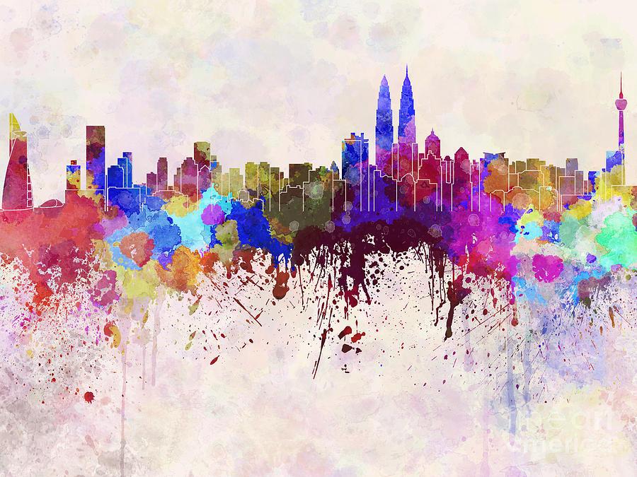 kuala-lumpur-skyline-in-watercolor-background-pablo-romero.jpg