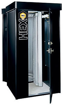 Hex II Stand-Up tanning Beds