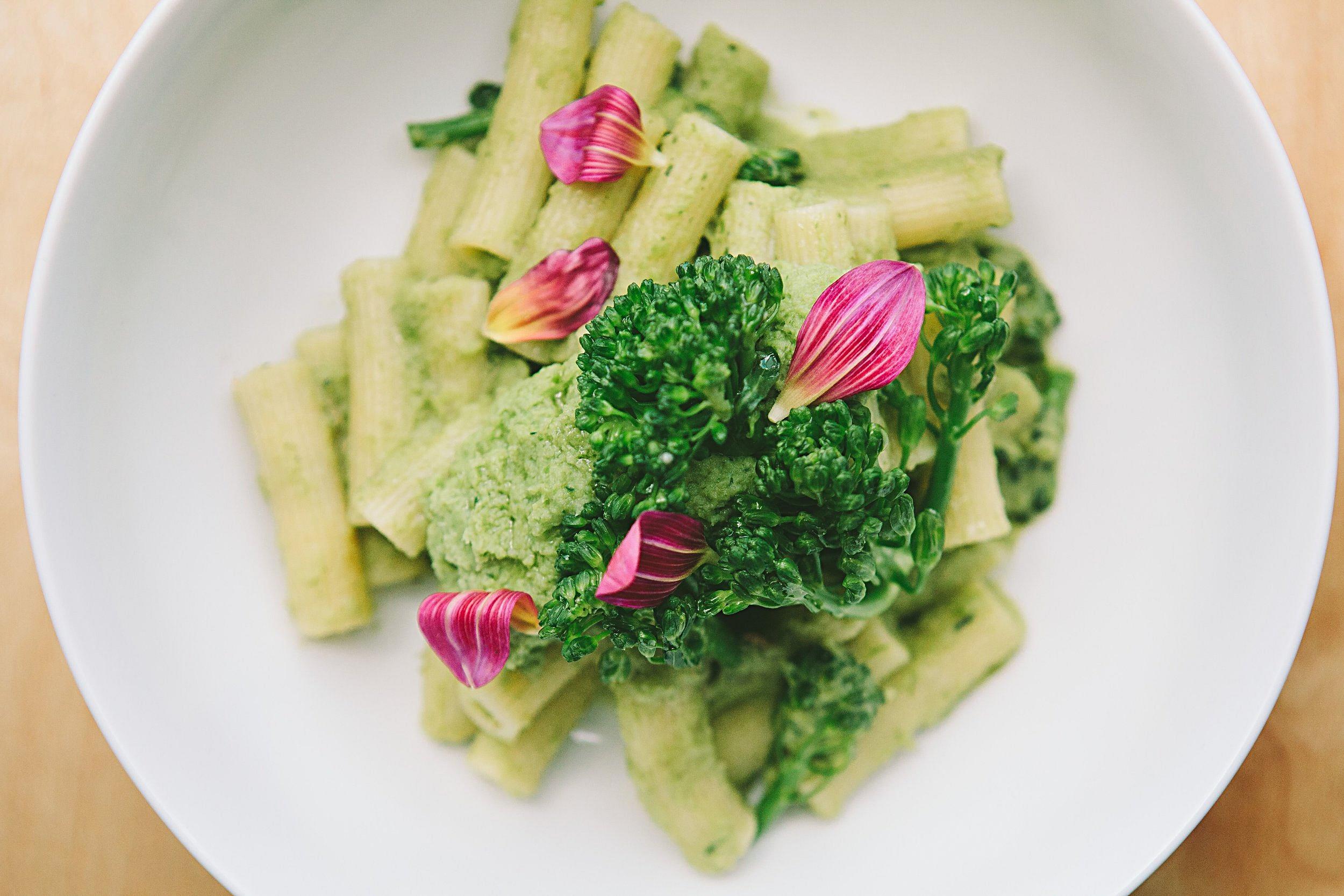 Rigatoncini, anchioves & broccoli