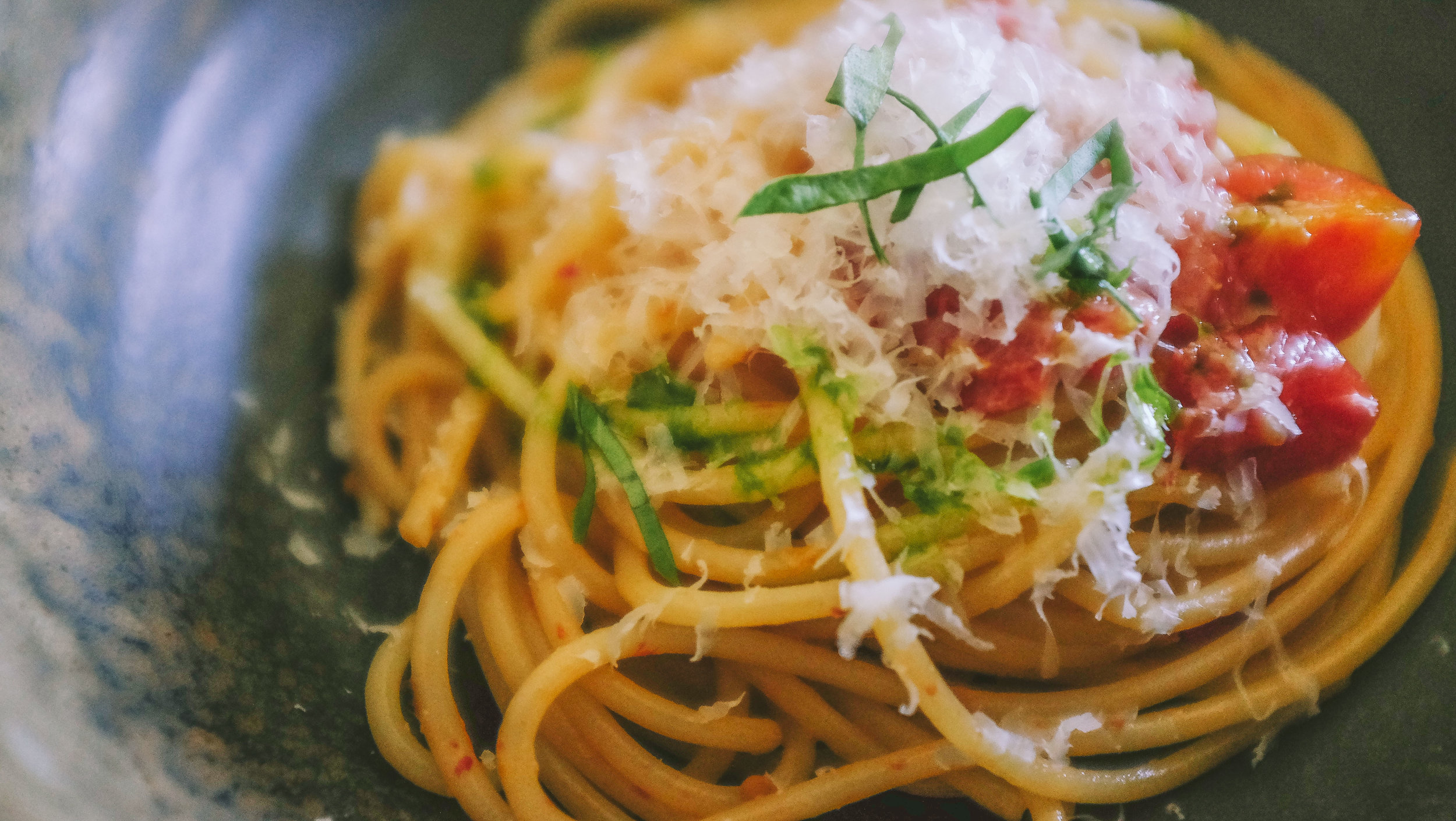 Spaghetti e pomodorini