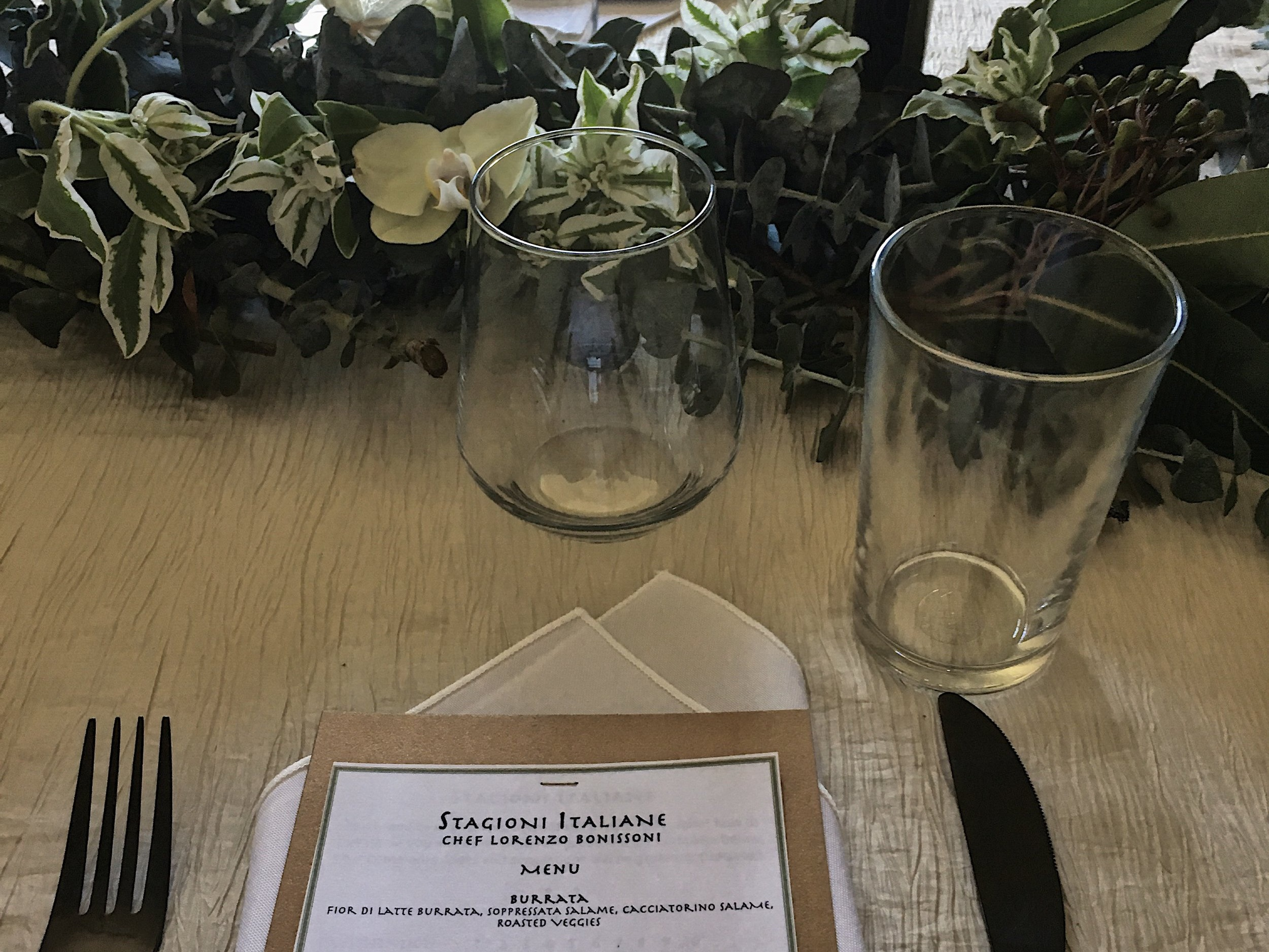 Private Events - Restaurant caliber dining experiences at your location.