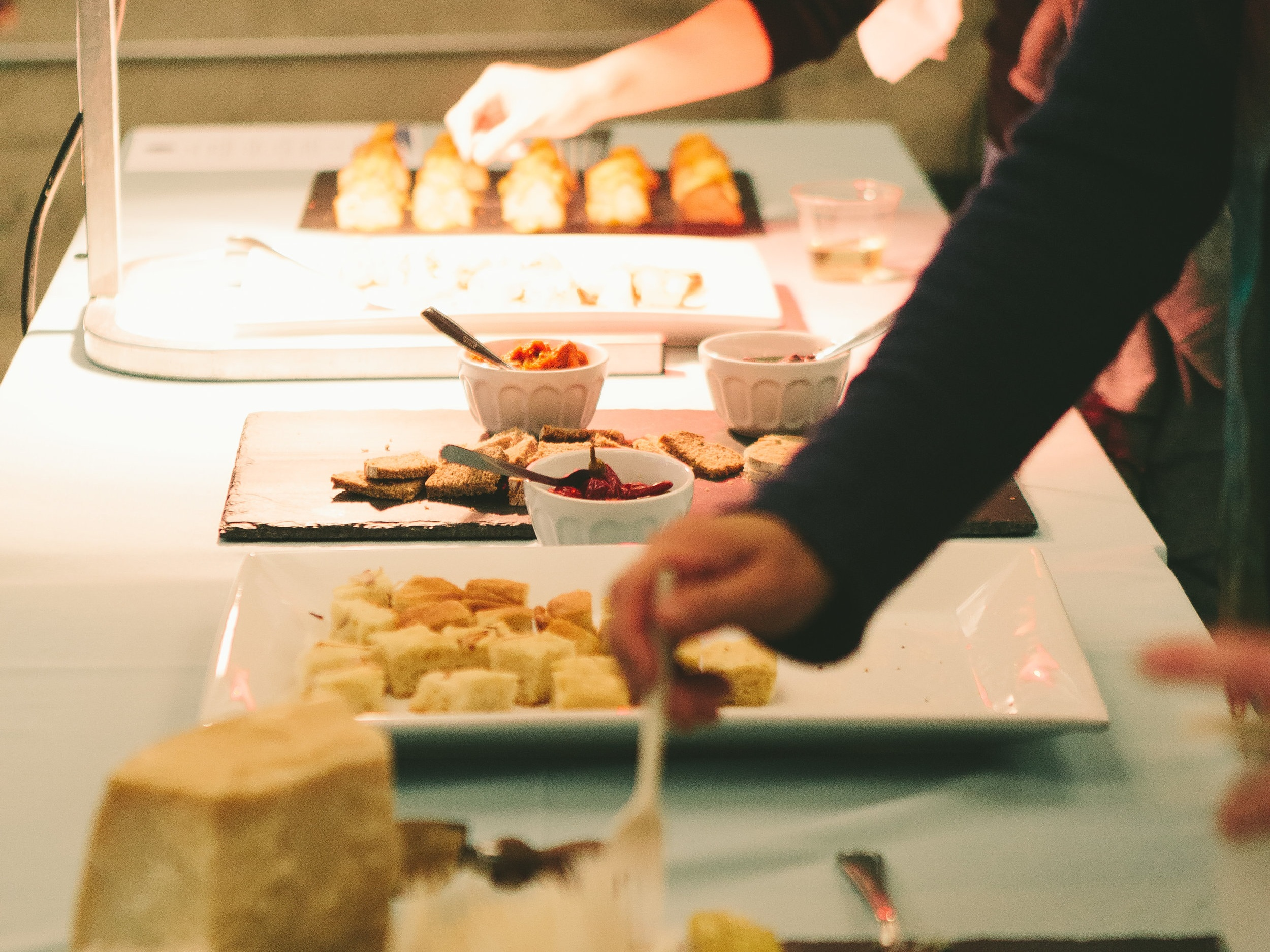 Corporate Events - Gourmet catering for large groups