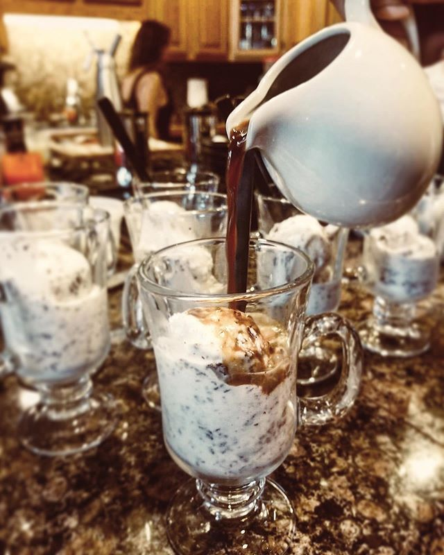 Who's down to beat this heat with a refreshing, cooling, and delicious AFFOGATO. Scoop your favorite creamy ice cream and top it off with a cool espresso. ⠀⠀ :⠀⠀ :⠀⠀ : :: :::⠀⠀ #sf #heatwave #affogato #coffee #icecream #icecreamlover #summer #hautecuisines #beautifulcuisines #huffposttaste #thefeedfeed  #love #foodstyle #foodnetwork  #happy #zagat #thrillist #eatwell #tasty #tuesdaymotivation #italianstyle #italianfood #cheflife #stagionitaliane #cheflorenzobonissoni #travelwithyoursenses #sanfrancisco #bayarea #finedining #food52⠀⠀ @huffposttaste @hautescuisines @deliciousmag⠀⠀ ⠀⠀ ⠀⠀ ⠀⠀ ⠀⠀ ⠀⠀