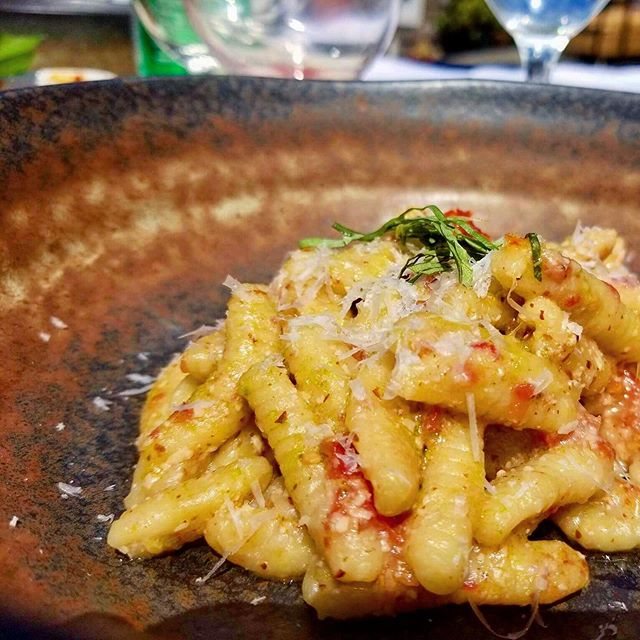 Nothing beats Cavatelli with cherry tomatoes and parmigiano. . .⠀ .⠀ .⠀ :⠀ :⠀ :⠀ #love #rigatoni#pasta #foodstyle #foodnetwork #pastalover #happy #tomato #sauce #eeeeeats #feedfeed #eater #zagat #thrillist #eatwell #tasty #tuesdaymotivation #dinner #italianstyle #italianfood #parmigiano #cheflife #stagionitaliane #cheflorenzobonissoni #travelwithyoursenses #sanfrancisco #fancy #bayarea #finedining #food52