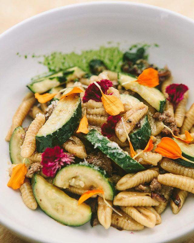 Nothing beats fresh cavatelli with a fresh zucchini, parmigiano (24MO) and basil oil . ⠀⠀⠀ .⠀⠀⠀ .⠀⠀⠀ .⠀⠀⠀ :⠀⠀⠀ :⠀⠀⠀ :⠀⠀⠀ #love #cavatelli #pasta #foodstyle #foodnetwork #pastalover #happy #zucchini #cheese #eeeeeats #feedfeed #eater #zagat #thrillist #eatwell #tasty #tuesdaymotivation #dinner #italianstyle #italianfood #parmigiano #cheflife #stagionitaliane #cheflorenzobonissoni #travelwithyoursenses #sanfrancisco #fancy #bayarea #finedining #food52