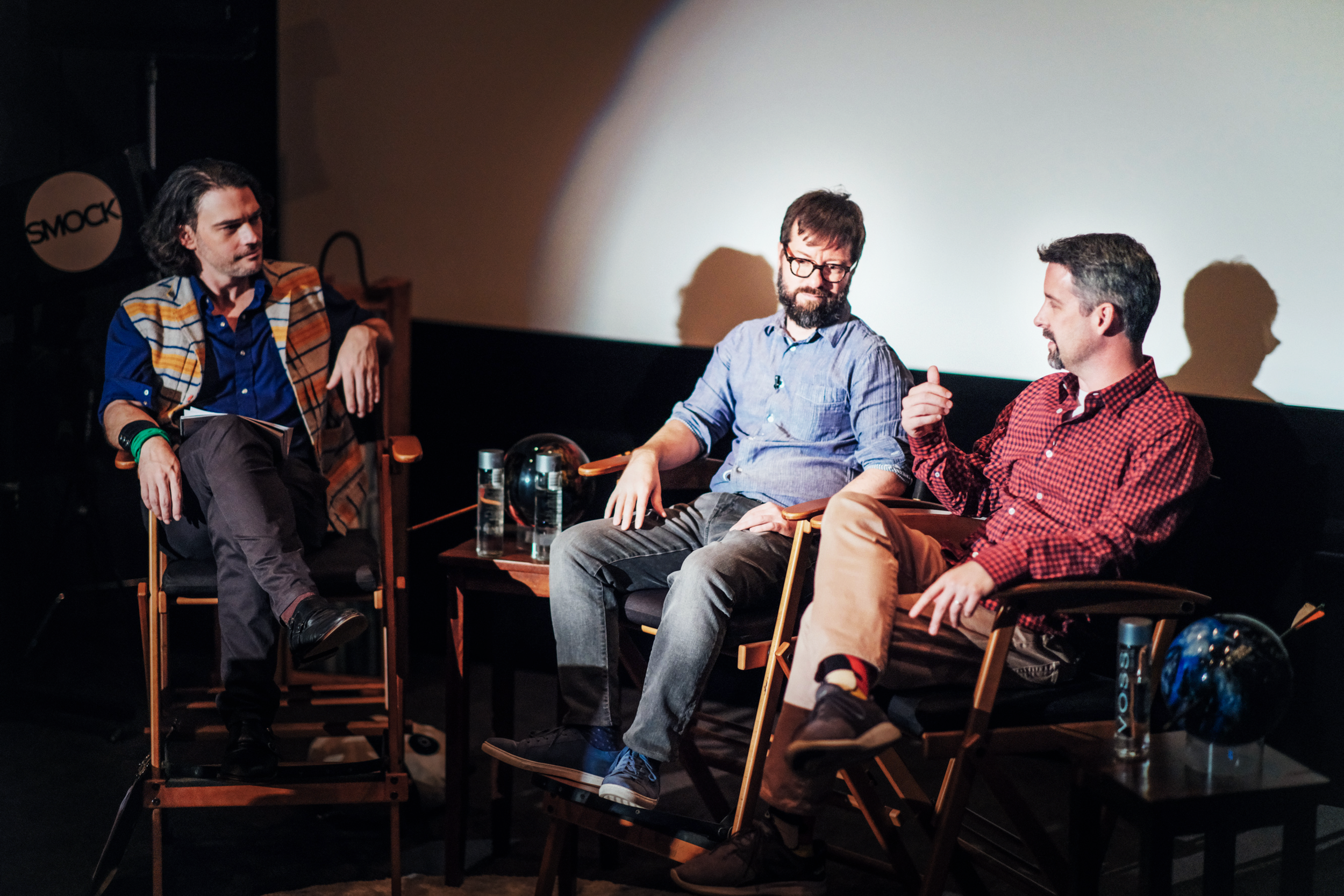 "Smock Media founder Adam ""Hawk"" Jensen leads a discussion with award-winning editors Tom Wilson ( Mad Men ) and Will Znidaric ( Five Came Back ) on bringing stories to life."