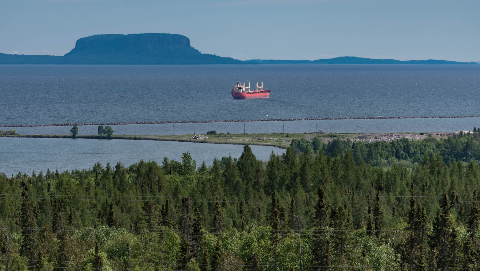 View of Thunder Bay from Terry Fox Memorial