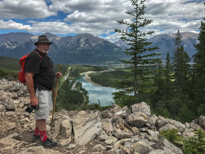 on the grassi trail canmore
