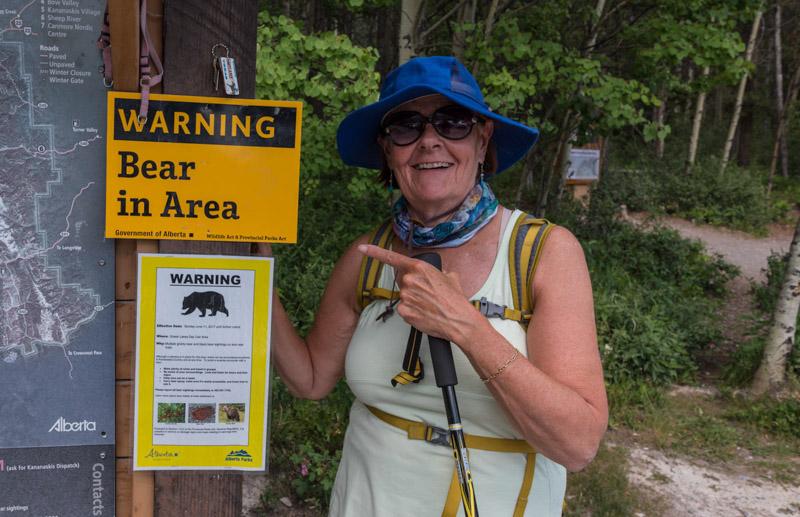 Warning, bear sightings