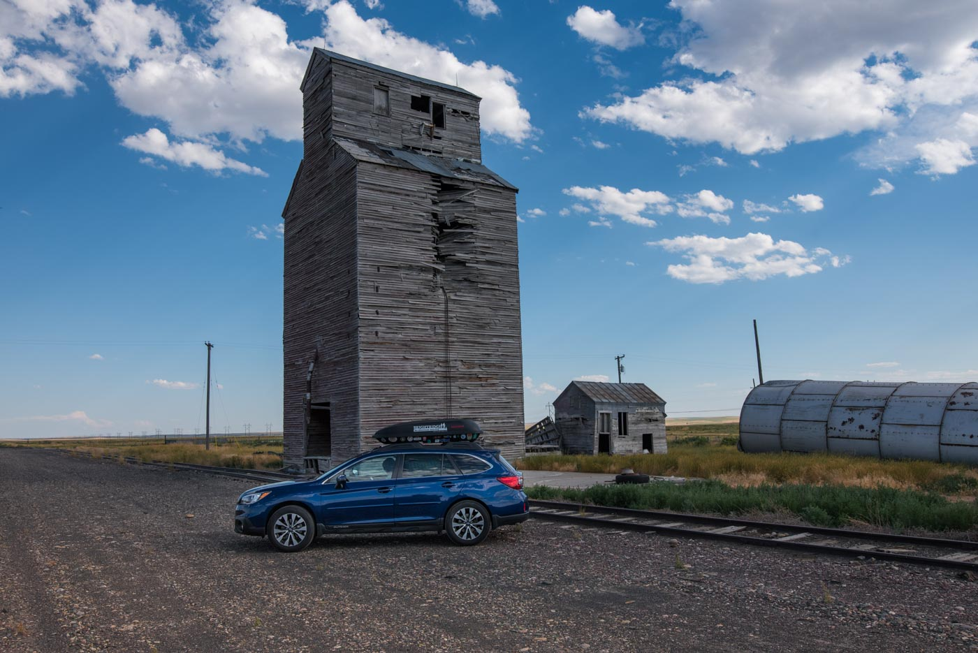 abandoned elevator in Comanche