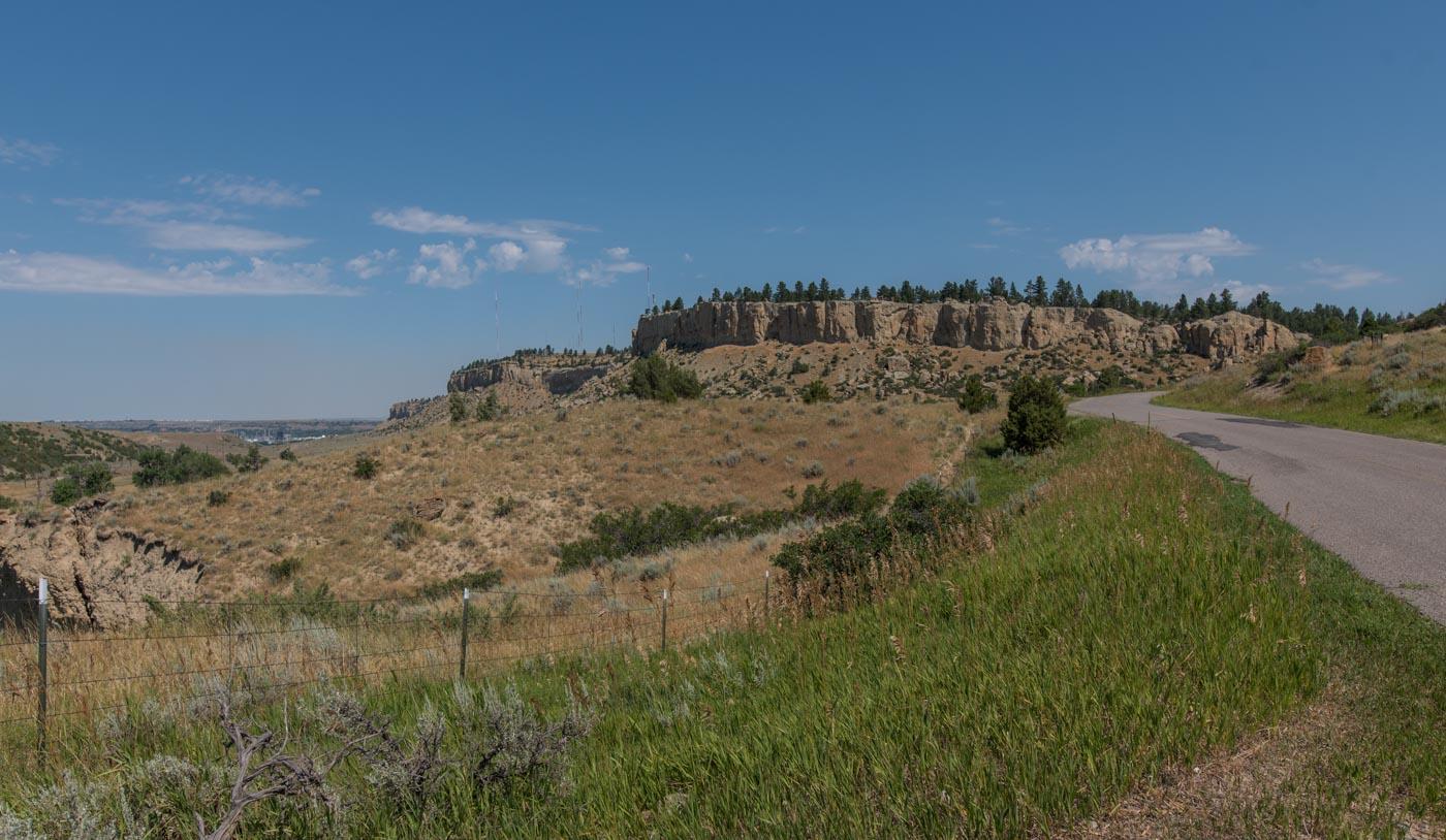 strange rugged landscape