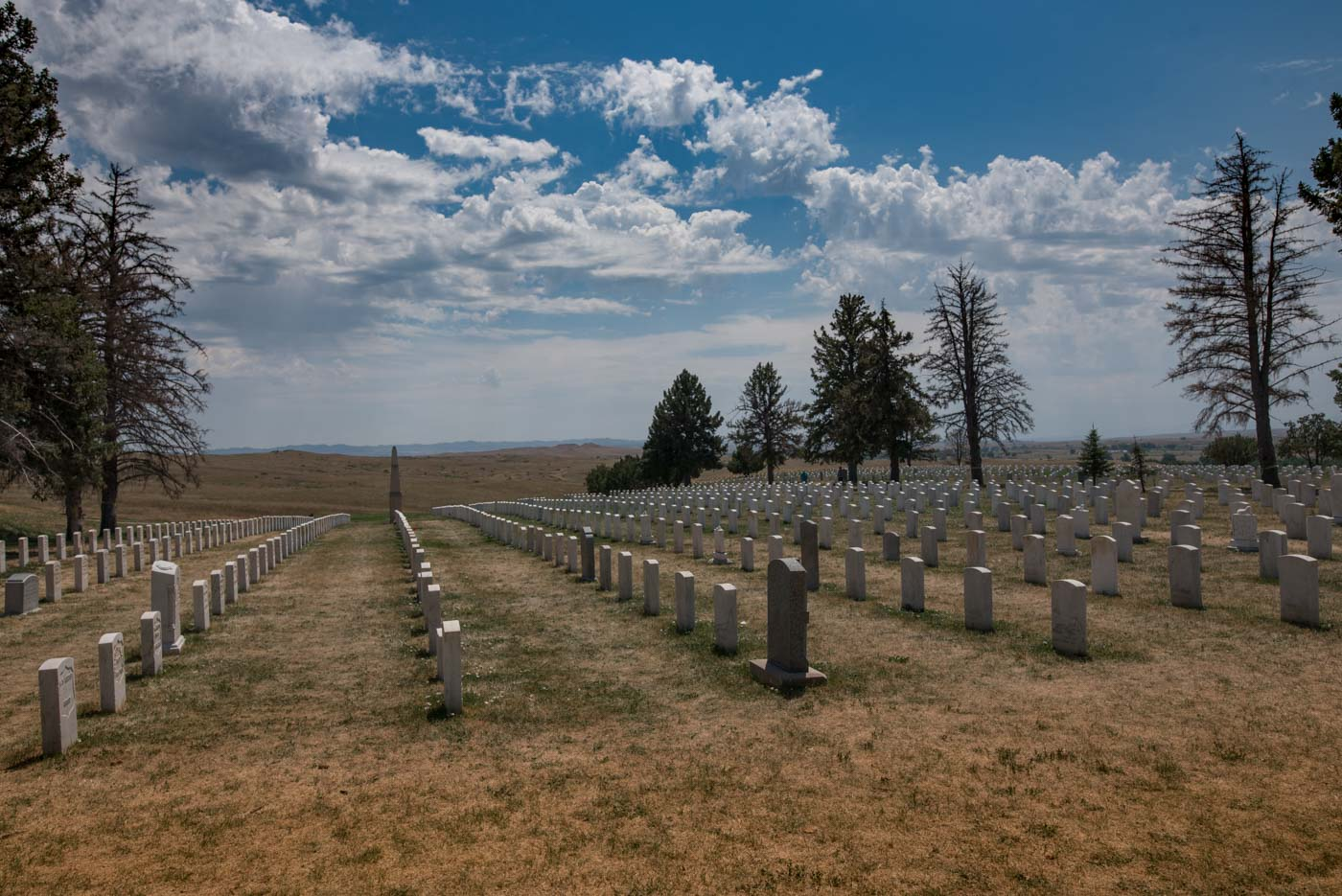 National cemetery at Little Bighorn