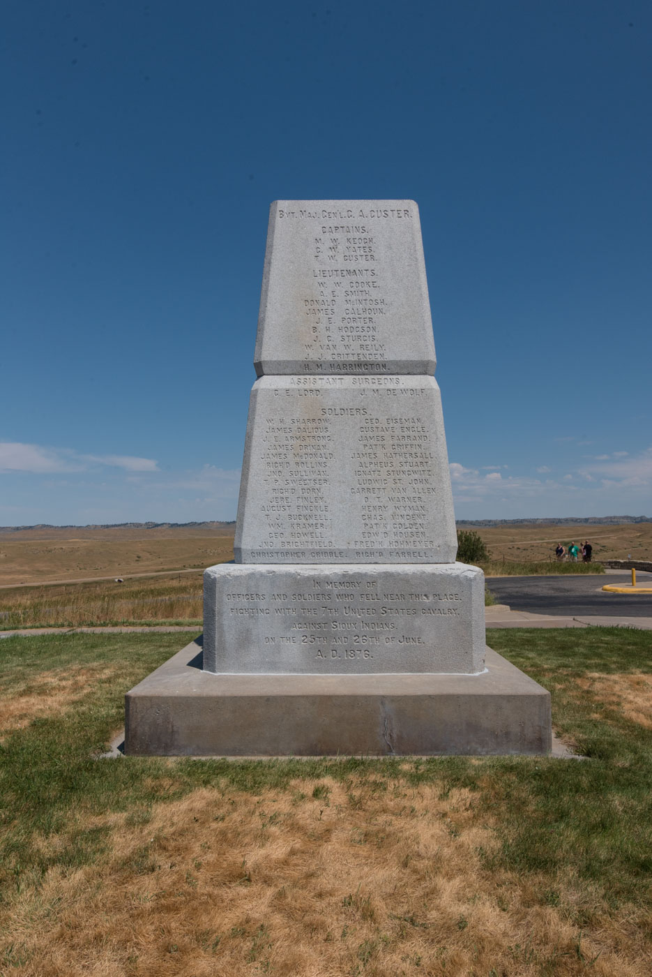 memorial to the soldiers