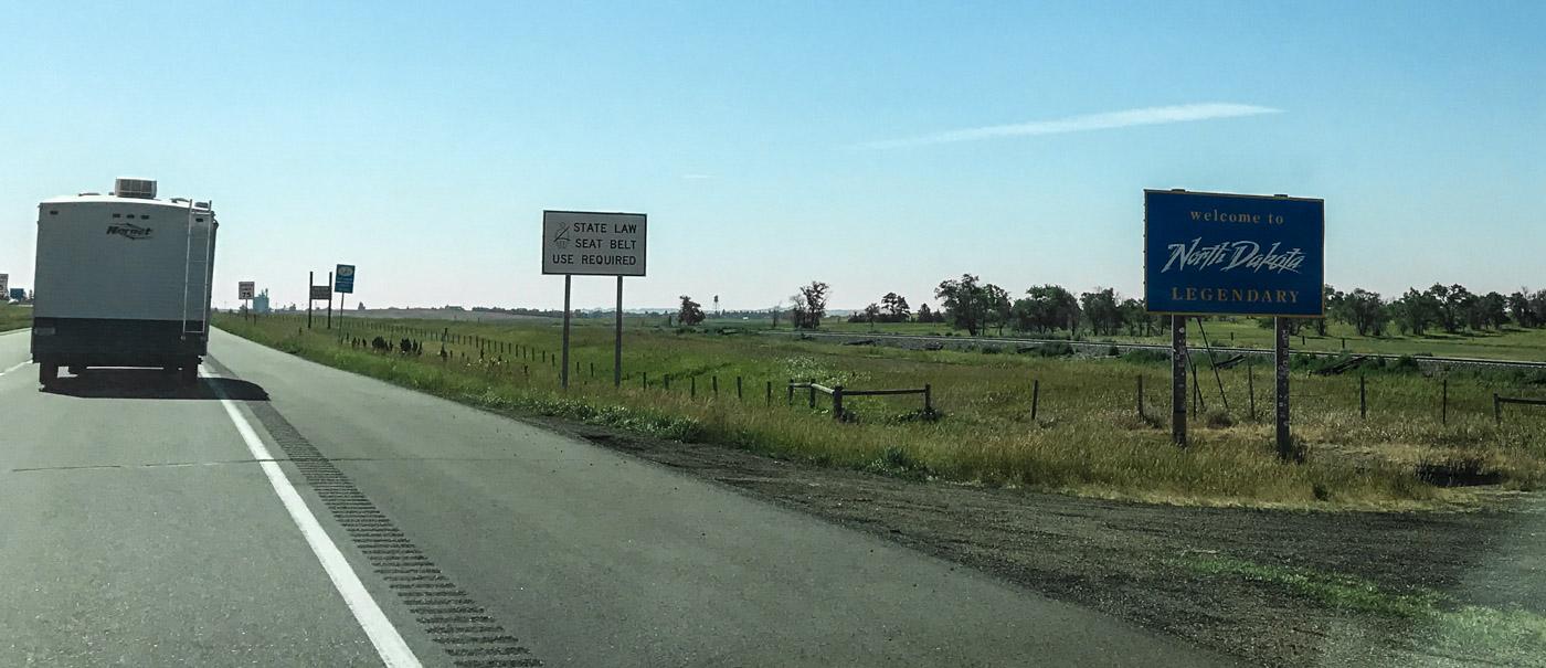 welcome to north dakota