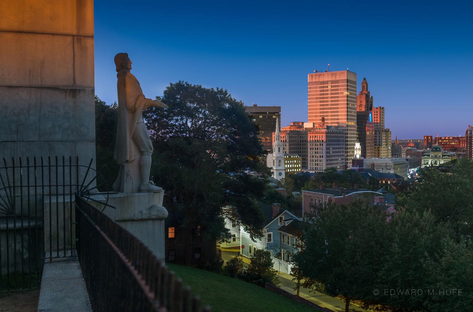 Providence, from Prospect Terrace Park