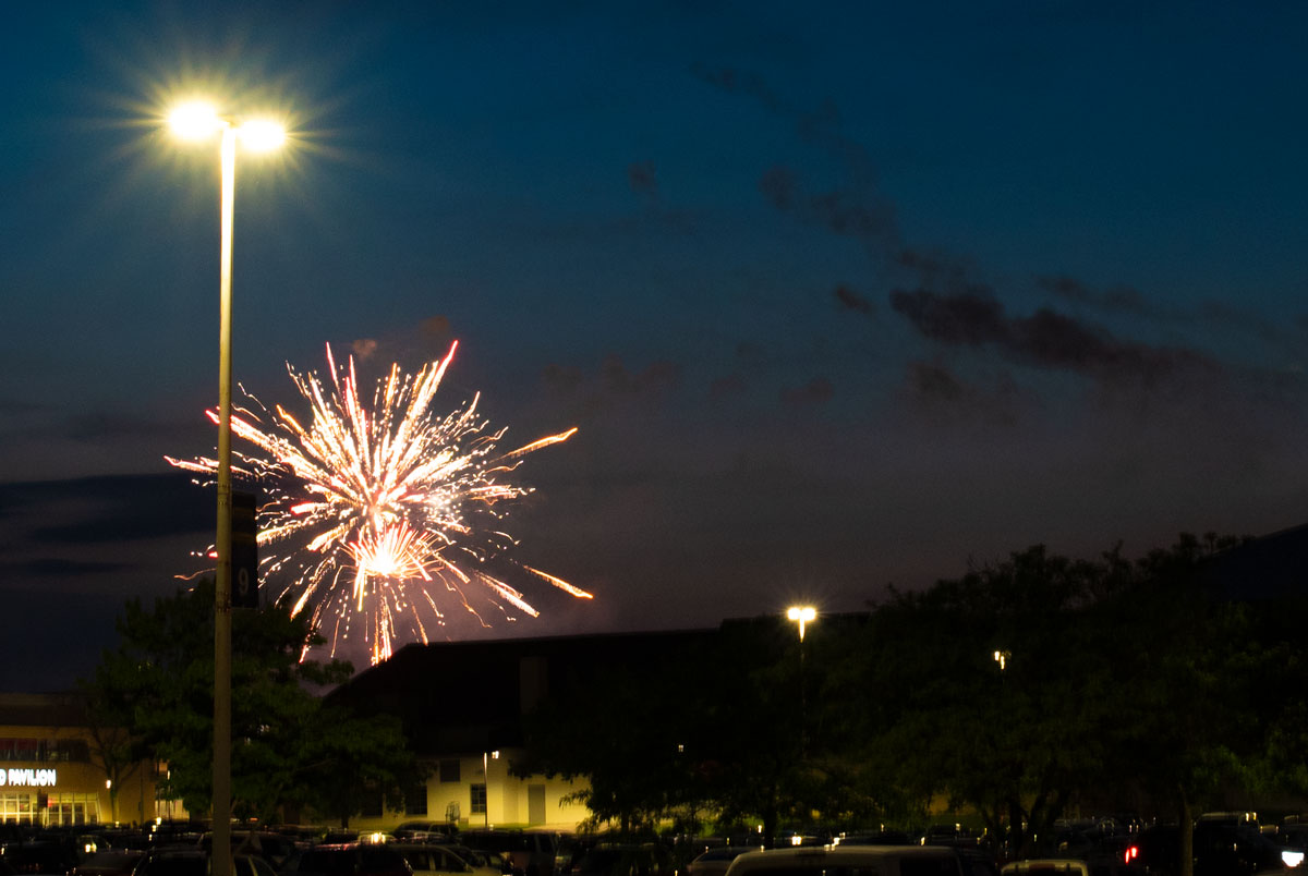 And fireworks at days end!