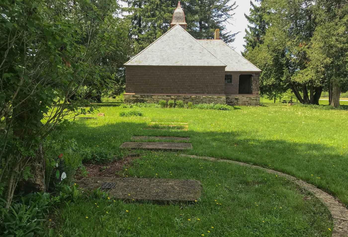 Family chapel, halfway between school and home