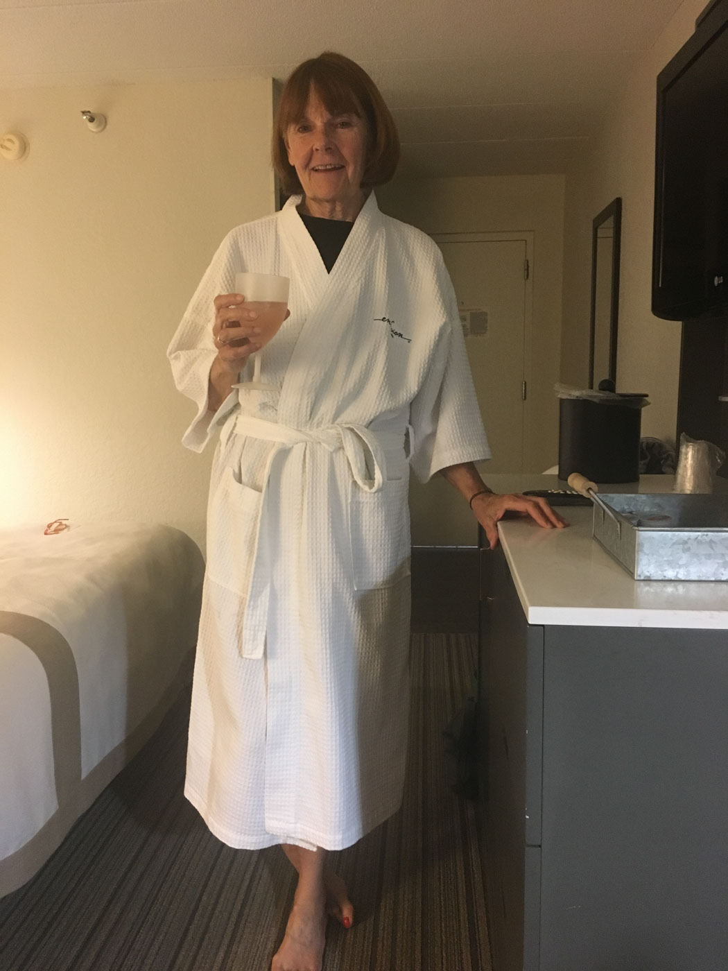 We even have robes!