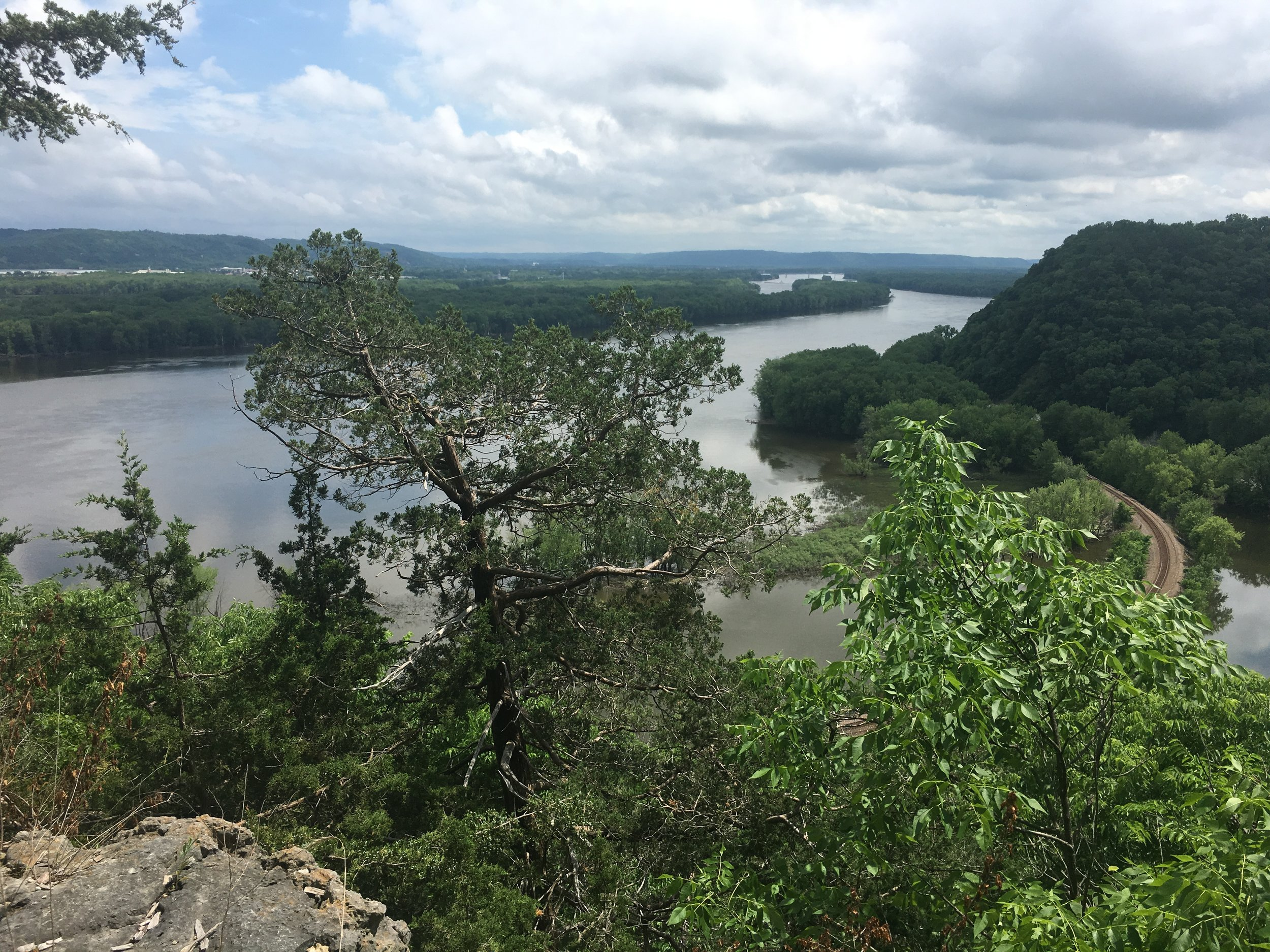 From Effigy Mounds NP