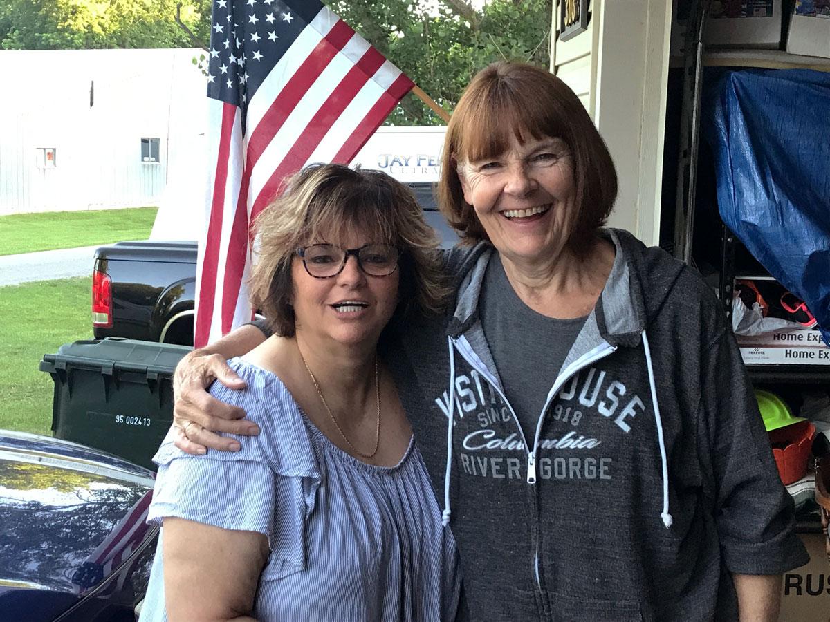 Tammie and Carol