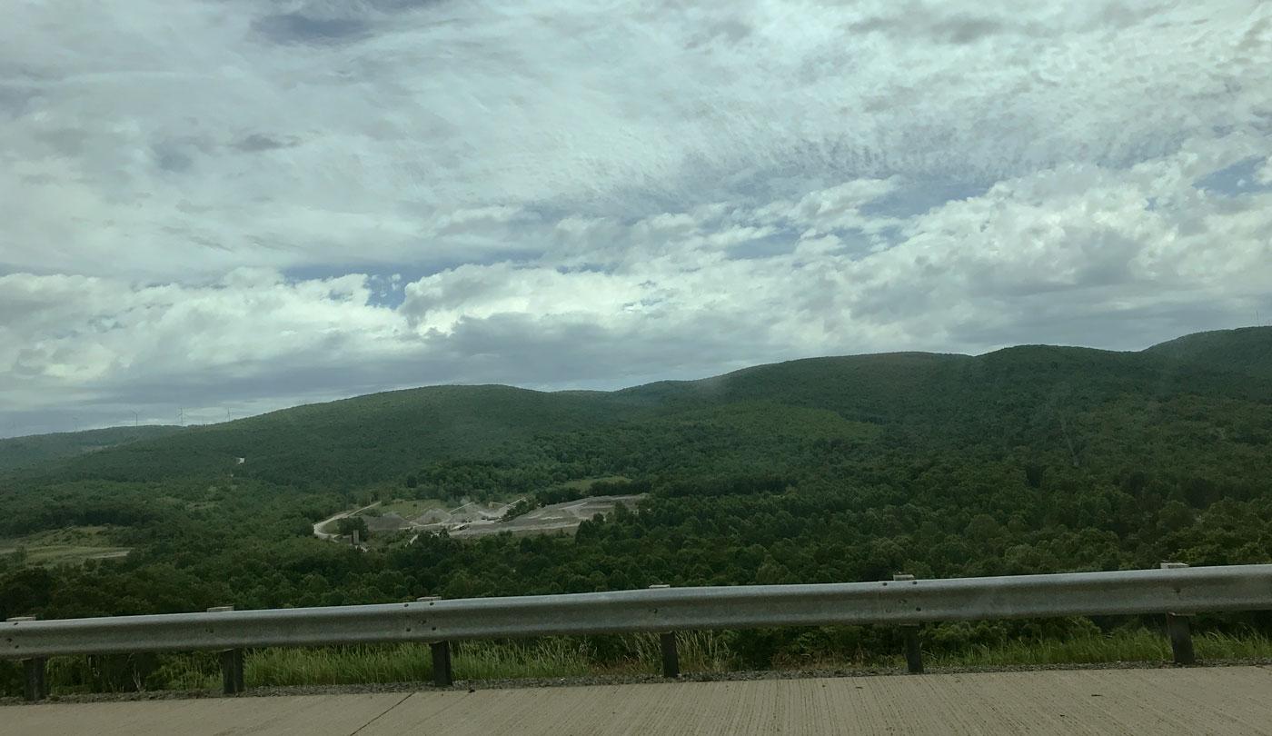 Scenic overlook, Pennsylvania