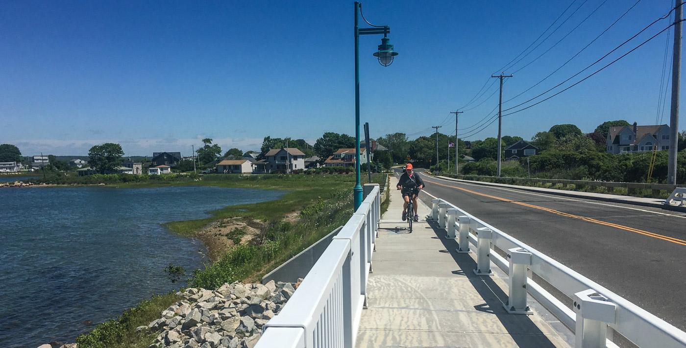 Bike ride, Great Island Bridge