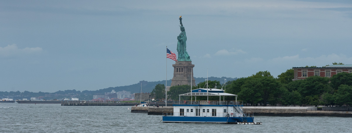 Lady Liberty from Ellis Island