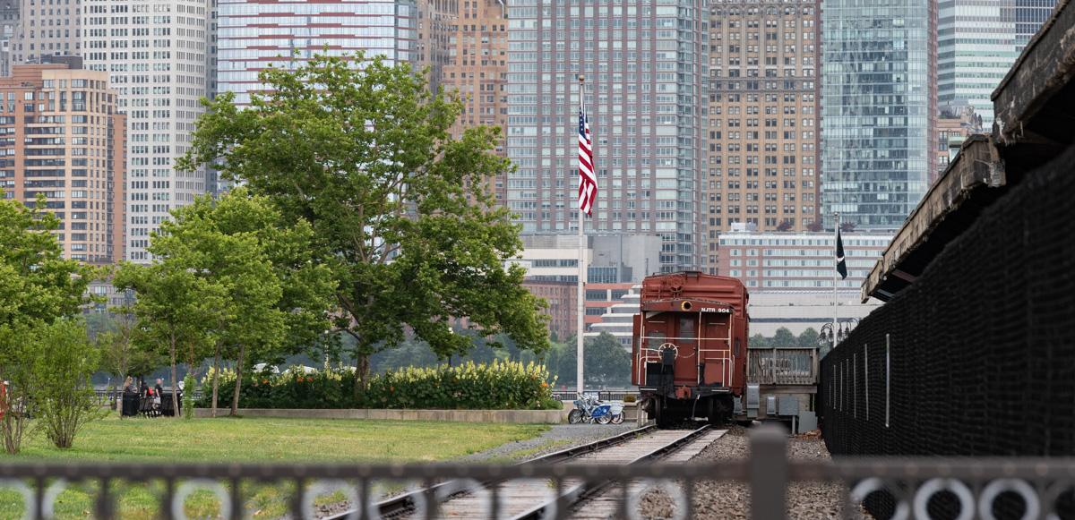 Jersey rail yard, now Liberty Park